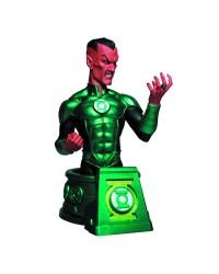 blackest night sinestro as green lantern bust - STK619813 - Blackest Night Sinestro AS Green Lantern Bust