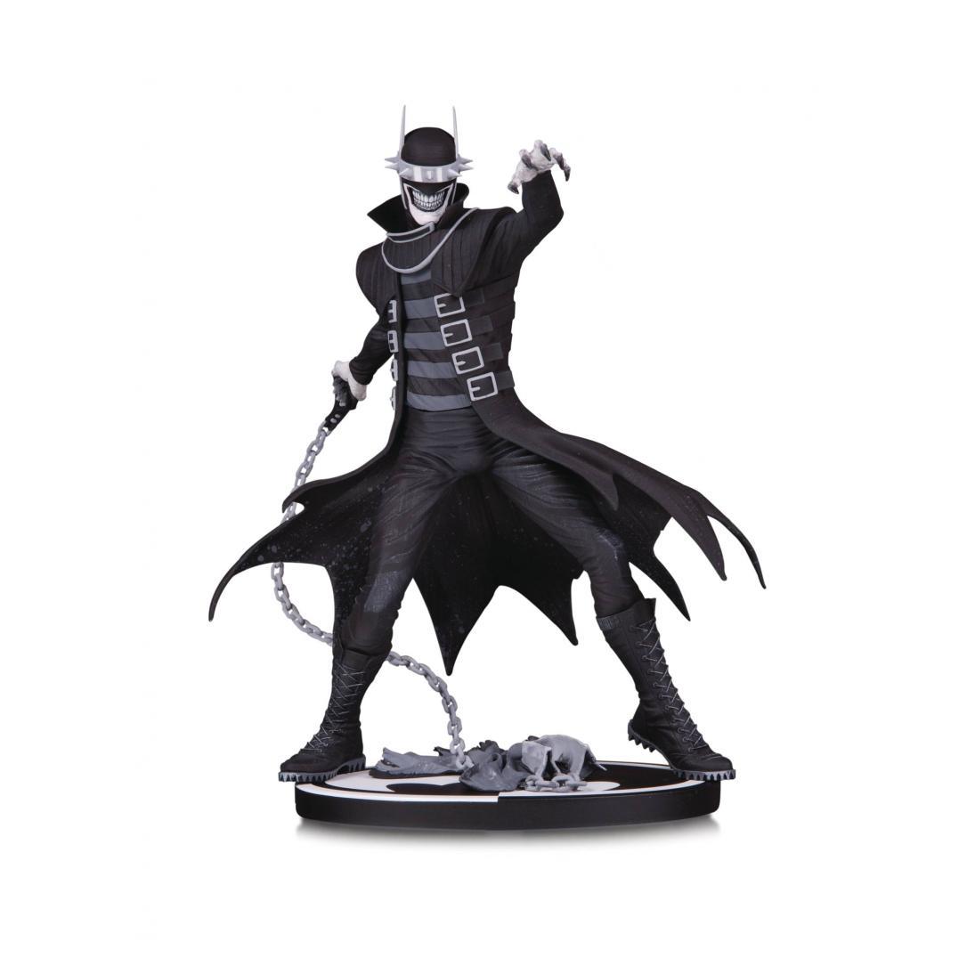 - STL086899 800x1095 - BATMAN BLACK & WHITE THE BATMAN WHO LAUGHS STATUE – 2ND ED
