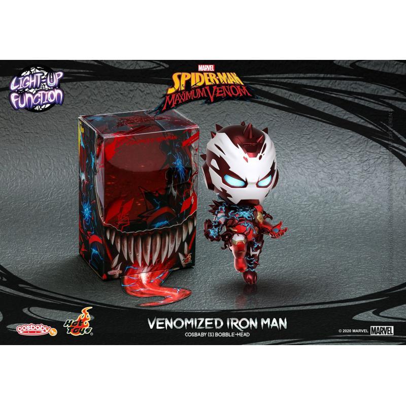 - KfYx7Rk 800x563 - Venomized Iron Man Cosbaby (S) Bobble-Head